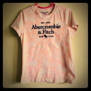 Abercrombie & Fitch tie-dye T-shirt